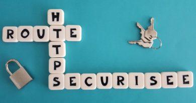 https route sécurisée