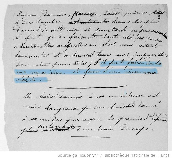 Extrait journal intime Pierre Curie