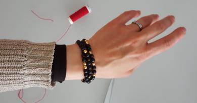 Un bracelet à message pour maman