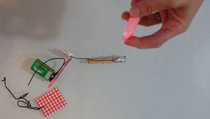 connecter le buzzer à la pince